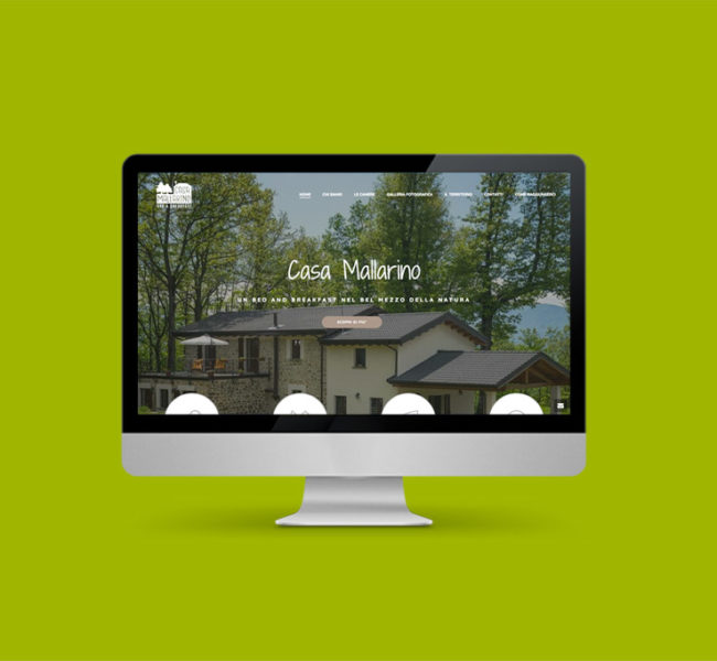 Sito internet per bed and breakfast